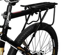 Mountain Bike Carrier Cargo Rear Rack Shelf Bicycle Seat Luggage Steel Rack Can Load High Quality