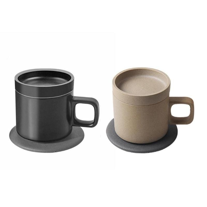 Tasse isolée de tasse de chauffage électrique de charge sans fil intelligente de 55 degrés