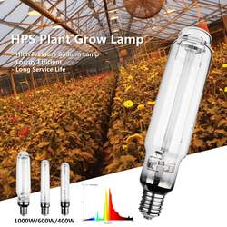 Натриевая лампа высокого давления, 400 Вт, 600 Вт, 1000 Вт, HPS, E40, 23Ra, энергосберегающая, долгий срок службы 23000 часов