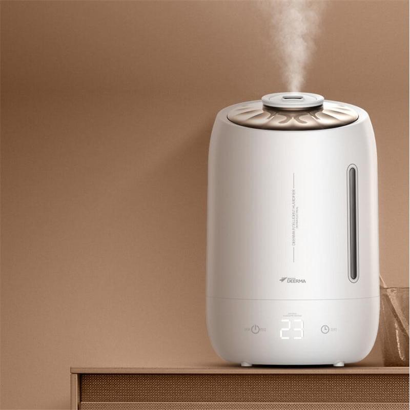 Deerma 5l Air maison humidificateur à ultrasons Version tactile purificateur d'air pour chambres climatisées bureau ménage D5-in Humidificateurs from Appareils ménagers    3