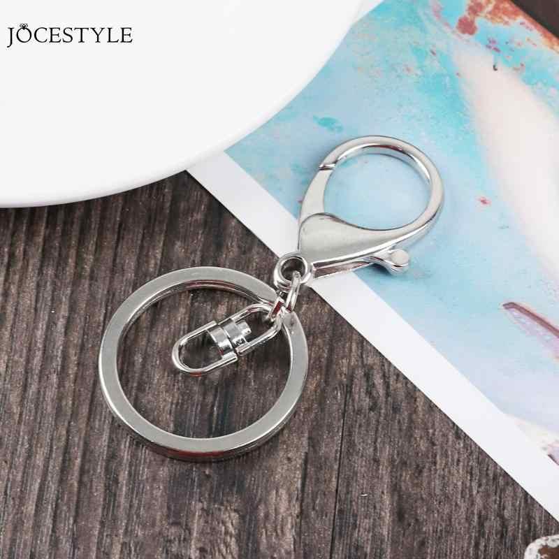 70*30mm מתכת Keychain קלאסי DIY תיק מפתח טבעת תליון ווי לובסטר אבזם מפתח וו שרשרת תכשיטי ילדים מתנה