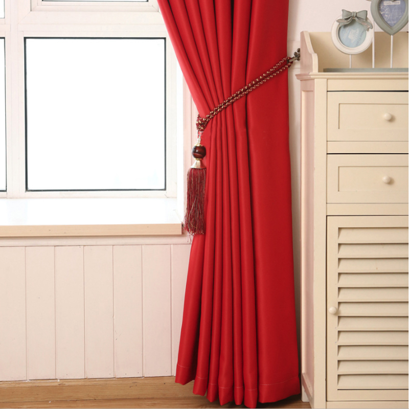 Living Room Window Curtains for Modern Blackout Treatment Finished Drapes for Bedroom blackout Curtains 1 Panel in Curtains from Home Garden