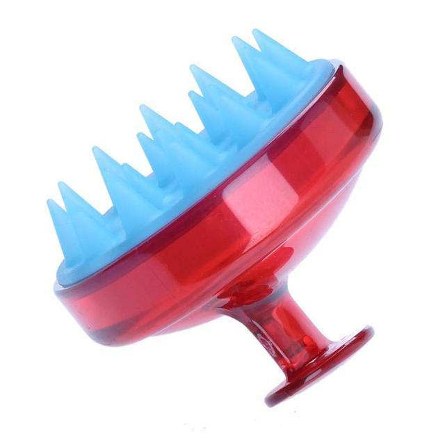 1pc Silicone Head Shampoo Scalp Massage Brush Hair Washing Scalp Cleanse Comb Deep Care Massage Scalp 16 styles 3