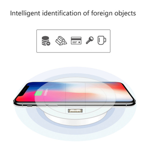 Image 5 - Embed Desktop Fast Wireless Charger Furniture Office Table Desk Mounted Quick Charging Embedded For IPhone X XS Max Samsung S9 8