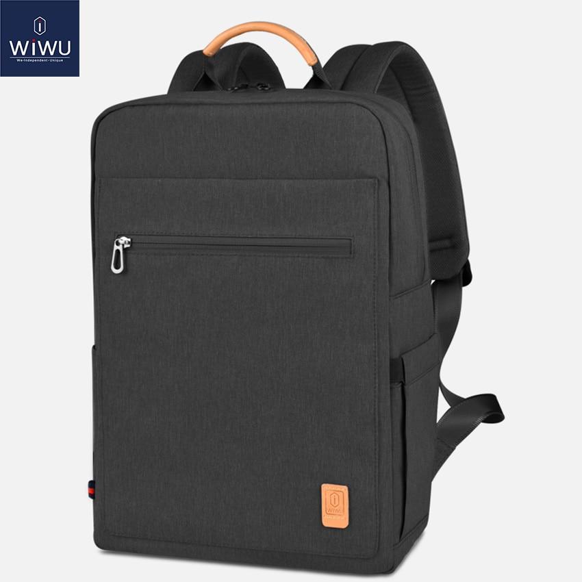 WIWU Fashion Laptop Backpack 15.6 Large Capacity School Backpacks Nylon Laptop Bag 15.6 inch Women Male Lightweight BackpackWIWU Fashion Laptop Backpack 15.6 Large Capacity School Backpacks Nylon Laptop Bag 15.6 inch Women Male Lightweight Backpack