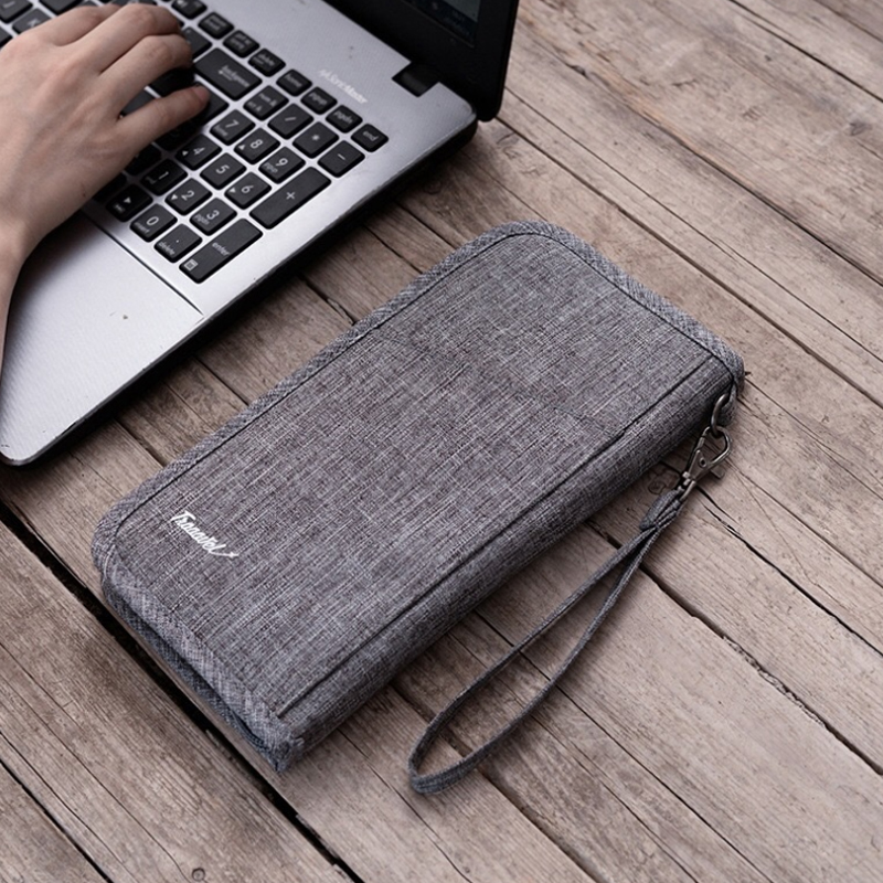 Women Men's Waterproof Passport Cover Business Wallet ID Card Credit Cards Holder Coins Packing Organizer Travel Accessories