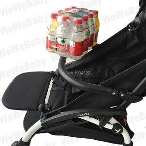 Image 2 - إكسسوارات لعربة الأطفال حقيبة ظهر مسند للقدمين لمسند ظهر حقيبة سفر babyzen YoYo بدلة راحة للقدم حقيبة ظهر لعربة الأطفال yoya
