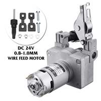 0.8 1.0mm Welding Wire Feed Motor Assembly Feeder Set DC24V No Connector Wire Feeder