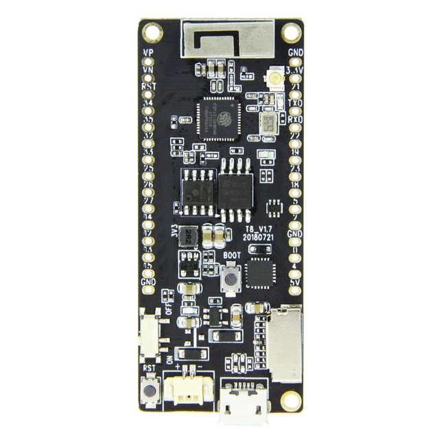 Ttgo T8 V1.7 Esp32 4Mb Psram Tf Card 3D Antenna Wifi And Bluetooth Esp32-Wrover Micropython