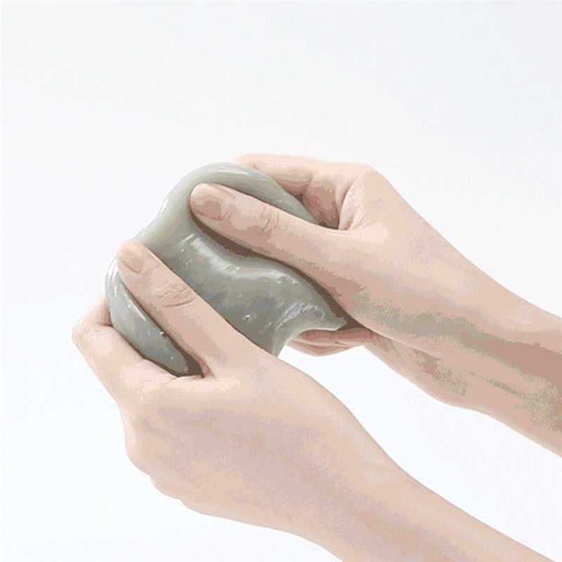 XIAOMI Fun Clean-n-Fresh клавиатура автомобиля резиновые перчатки для уборки антибактериальный гель силикон чистый клей волшебный моющий грязевой Инструмент Очиститель пыли