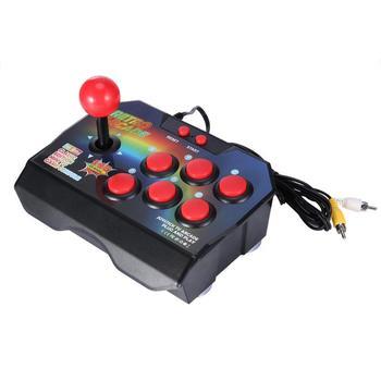 Arcade Joystick Game Controller AV Plug Gamepad Console w/ 145 Games for TV