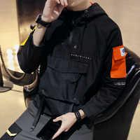 Kurtka 2019 wiosna mężczyzna student koreańska wersja dorywczo luźny wiatr hip hop baseball gorąca sprzedaż topy wiatrówka czarny darmowa wysyłka