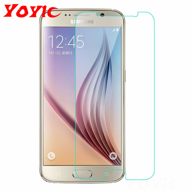 YOYIC Protective Glass For Samsung Galaxy S7 S6 S5 S4 S3 Tempered Glass Film For Samsung Note 3 4 5 Glass Screen Protector