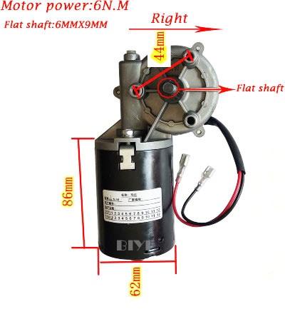 OMATE DC24V 6N.M 600 series Automatic shutter garage door motor