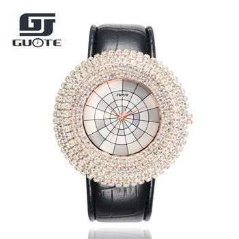 GUOTE Luxury Brand Women Watches Leather Analog Quartz Ladies Watch Fashion Casual Sport Wristwatches Montre Femme Reloj Mujer guote luxury brand women watches leather analog quartz ladies watch fashion casual sport wristwatches montre femme reloj mujer