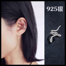 925 Sterling Silver snake  Earrings For Women Fashion Jewelry sterling-silver-jewelry pendientes