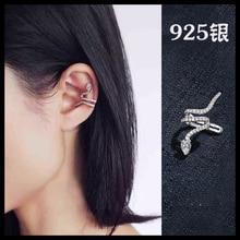 925 Sterling Silver snake  Earrings For Women Fashion Jewelry sterling-silver-jewelry pendientes