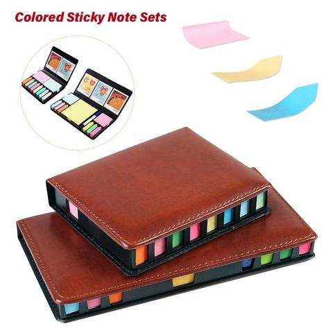 Colored Sticky Note Sets Self-Stick Note Box Sets With Page Markers Index Tabs Flags School Office Supplies Pakistan