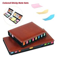 Colored Sticky Note Sets Self-Stick Note Box Sets With Page
