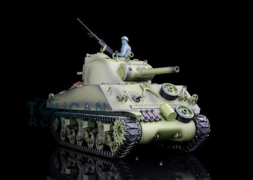 2 4G Henglong 1 16 Scale 6 0 Infrared Fighting Plastic M4A3 Sherman RTR RC Tank