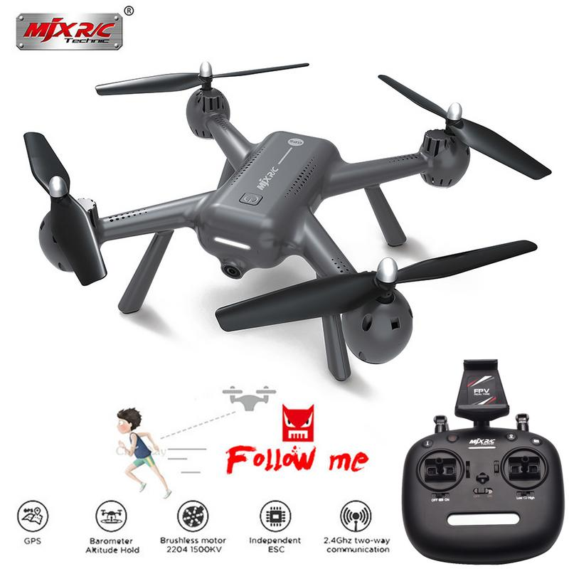 Per MJX R/C X104G 5G WiFi il Mantenimento di Quota GPS RC Drone Quadcopter RTF 5G WIFI Reale -tempo di Trasmissione di Immagini RC ElicotteroPer MJX R/C X104G 5G WiFi il Mantenimento di Quota GPS RC Drone Quadcopter RTF 5G WIFI Reale -tempo di Trasmissione di Immagini RC Elicottero