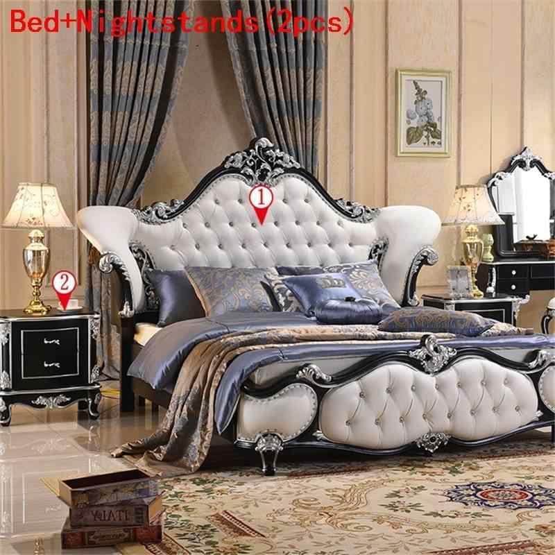 A Castello Frame Quarto Yatak Kids Letto Mobili Per La Casa Leather bedroom Furniture Mueble De Dormitorio Moderna Cama Bed