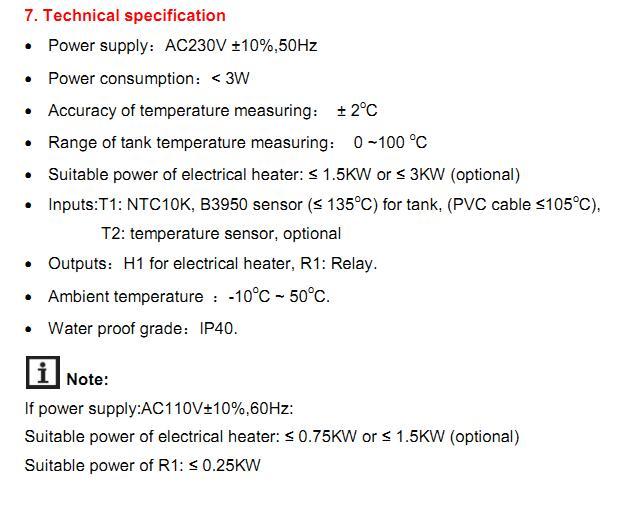 controlador solar calefator de agua sr609c 15kw 04