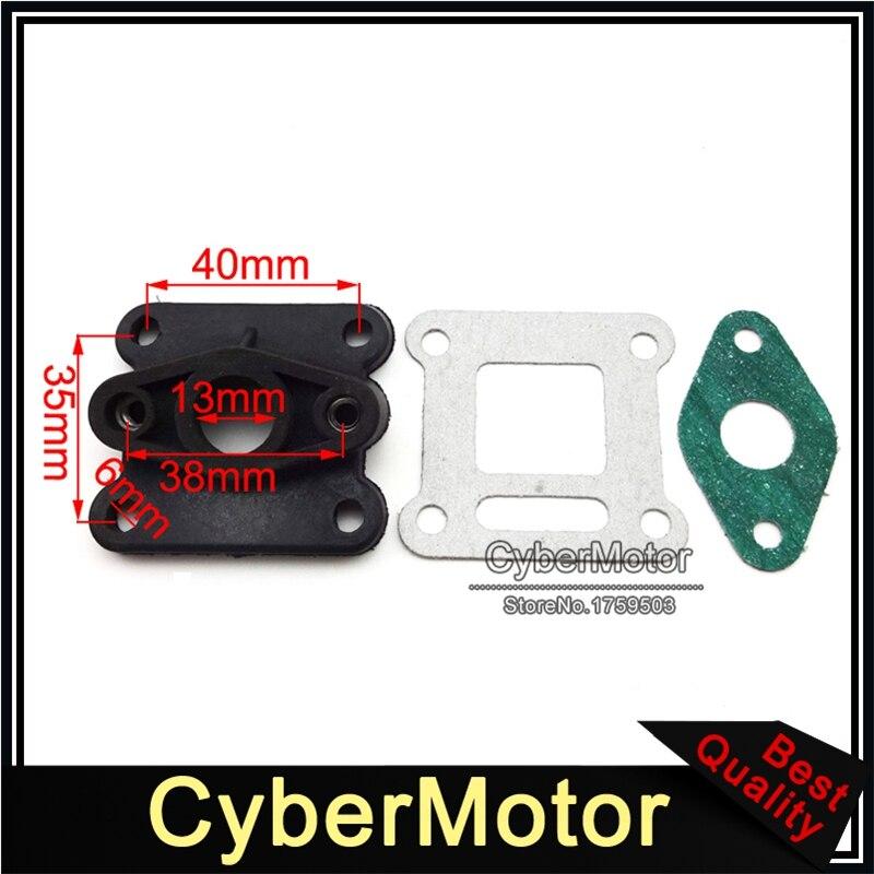 Stoneder filtro aria in schiuma Clearner giallo 45/mm per 125/cc 140/CC 150/cc motore carburatore ATV Quad Pit Dirt bike moto Go Kart scooter