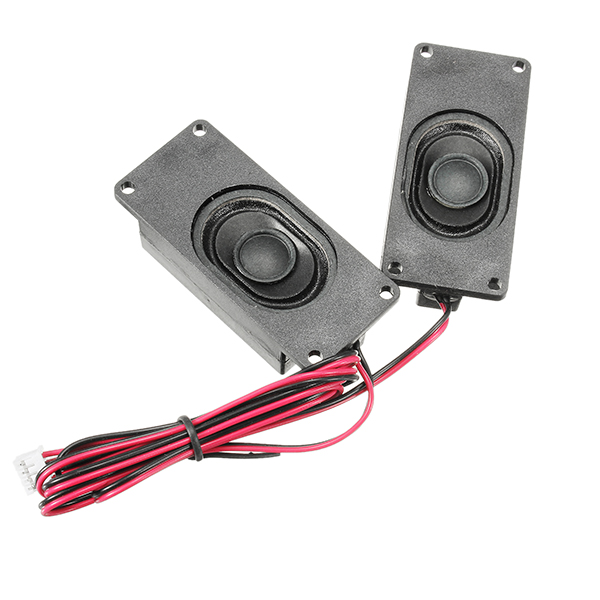 LEORY 1 Pair 4 Ohm 3W LCD Panel Speaker Amplifier Audio Frequency Output For V29 / V56 / V59