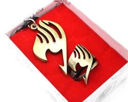 Япония Аниме Фея обруч ожерелье мальчики девочки косплей металлический кулон кольцо аксессуары к костюму для Косплей кольцо ожерелье в
