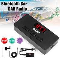 DAB Digital Radio Receiver FM Tuner Radio Car bluetooth 3.5 Transmitter Adapter FM DAV/DAB Tuner Broadcasting