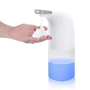 Image 3 - 350ml Automatic Induction Foam Washing Mobile Phone Bathroom Intelligent Induction Foam Soap Dispenser Infrared Induction Foam