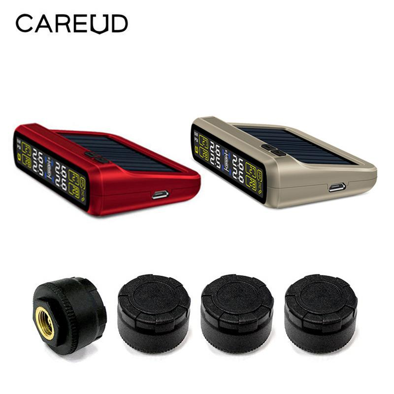 Universal Car TPMS Internal Lithium Battery USB Cable Solar Energy Two Power Supply Car Tire Pressure Monitor Real-time Universal Car TPMS Internal Lithium Battery USB Cable Solar Energy Two Power Supply Car Tire Pressure Monitor Real-time