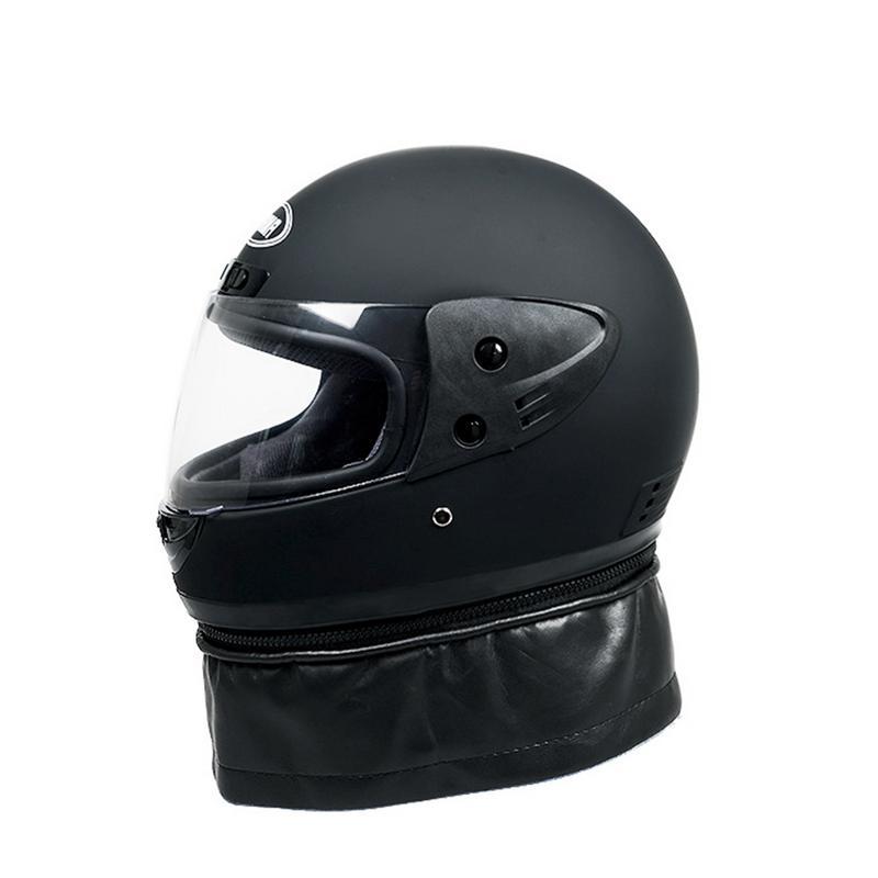 Motorcycle Helmet Male Electric Car Helmet Female Four Seasons Full Face Helmet Winter Anti-Fog Full-Covering Battery Car Helmet