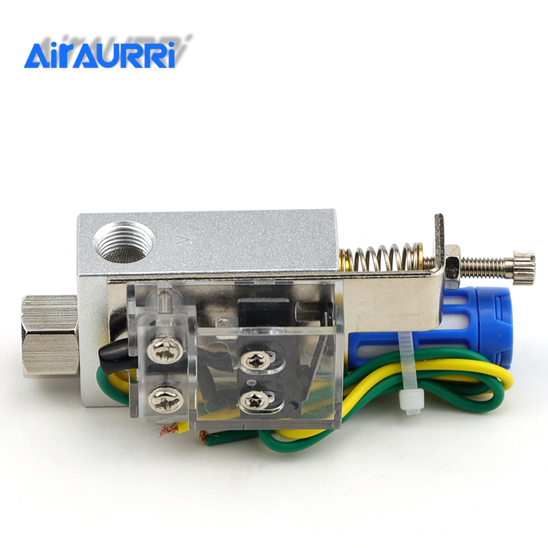 Vacuum Ejector With Micro Switch Vacuum Generator Valve Pneumatic Parts Vacuum Generator ZV 10CK 15CK 20CK 25CK in Pneumatic Parts from Home Improvement