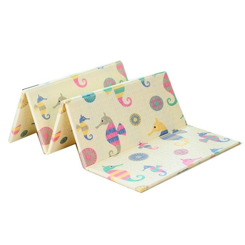 180x200cm tapis de jeu bébé XPE enfants tapis rampant épaississement salon maison mousse tapis pliant Alfombra Infantil Tapete Infantil