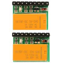 цена на DC 5V/10V DR21A01 Single Channel DPDT Signal Relay Module Polarity Reversal Switch Board   frequency generator
