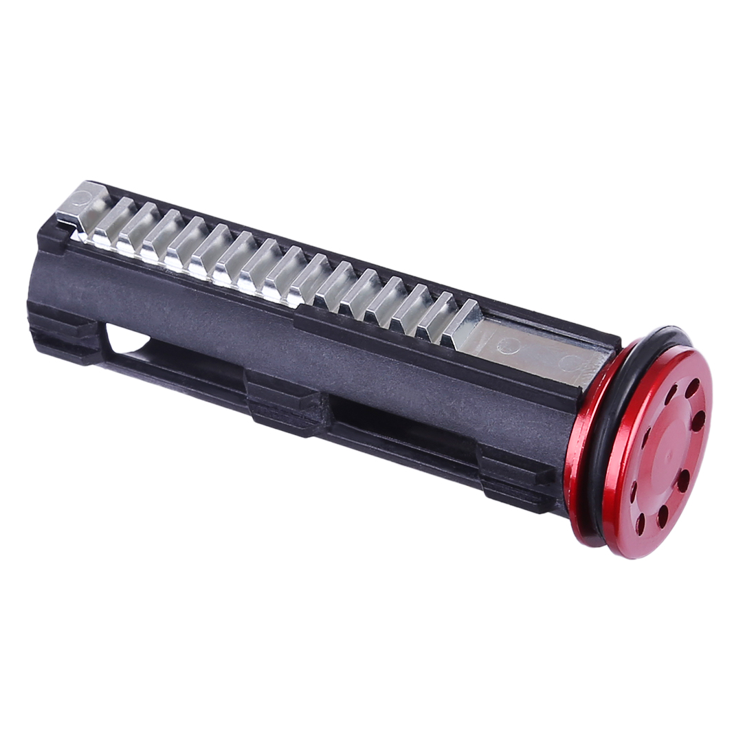 Metal Teeth Nylon Piston And Metal Piston Head For LH Vector Gen.2 Water Gel Beads Blaster - Black