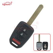Kigoauto Remote key shell 2 button with panic MLBHLIK6-1T for Honda Accord Civic CRV 2013 2014 2015 free shipping 1pcs new offer kd900 remote nb10 3 1 button remote key with nb xtt new honda model for 2013 2015 honda