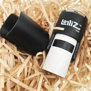Image 3 - LolliZ Custom Ronde Kantoor Sterren Een Lijn Zelfinktende Stempel
