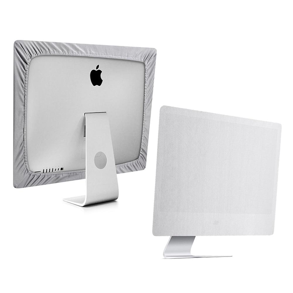Pantalla cubierta de polvo para Apple iMac 21 pulgadas de 27 pulgadas de Monitor de ordenador caso Protector de pantalla guardia LA006