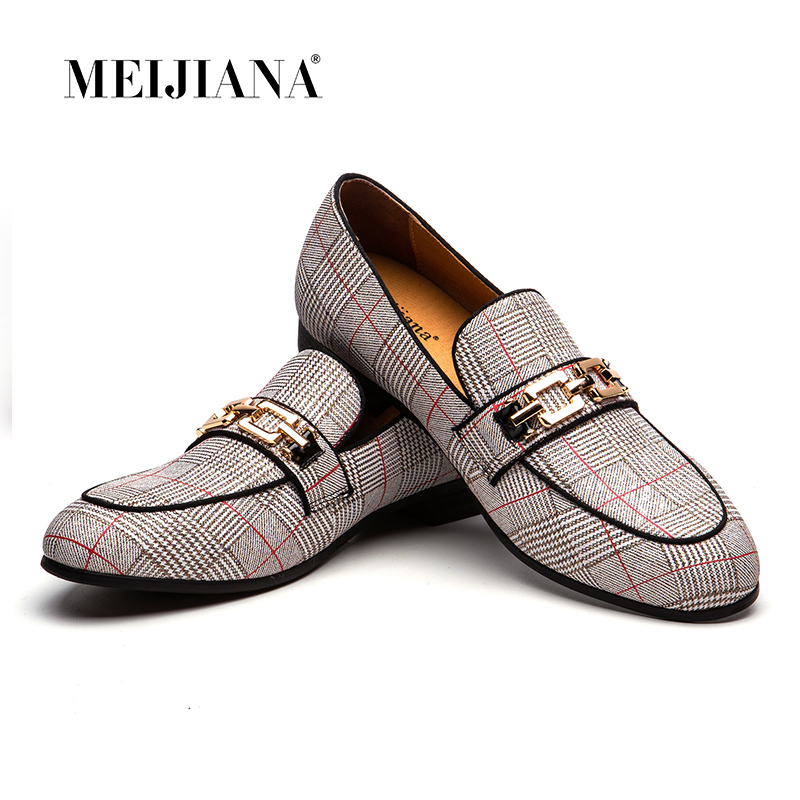 MEIJIANA Wedding and Party Shoes 2019 New Leather Men s Shoes Moccasin Men Loafers Brand Casual
