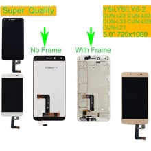 цена на 10Pcs/lot For Huawei Y5 II Y5II CUN-L23 CUN-L03 CUN-L33 CUN-L21 CUN-U29 LCD Display Touch Screen Digitizer Assembly With Frame