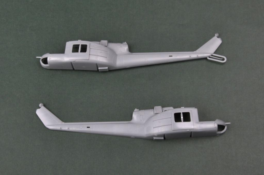 Hobbyboss 85803-1:48 UH-1C Huey Helicopter Neu