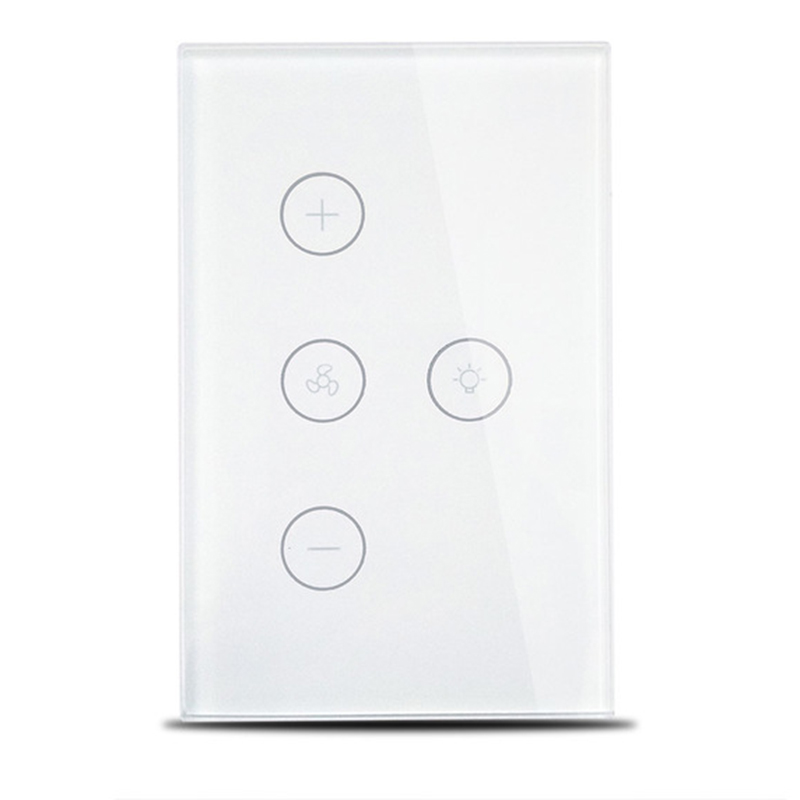 Smart Wifi Switch For Fan Light Compatible With Alexa