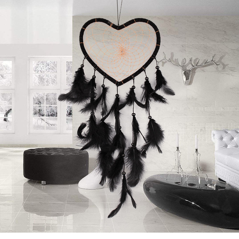 Car Accessories Dream Catcher Ornament Feathers Decoration Hanging Auto Cars Interior Accessories Dreamcatcher Car Styling Home