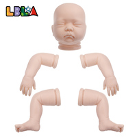 LBLA DIY Model Kit Soft Silicone Reborn Doll Kit Mold 20inch Handmade Babies Doll Kit Mould Doll Accessories As Christmas Gift