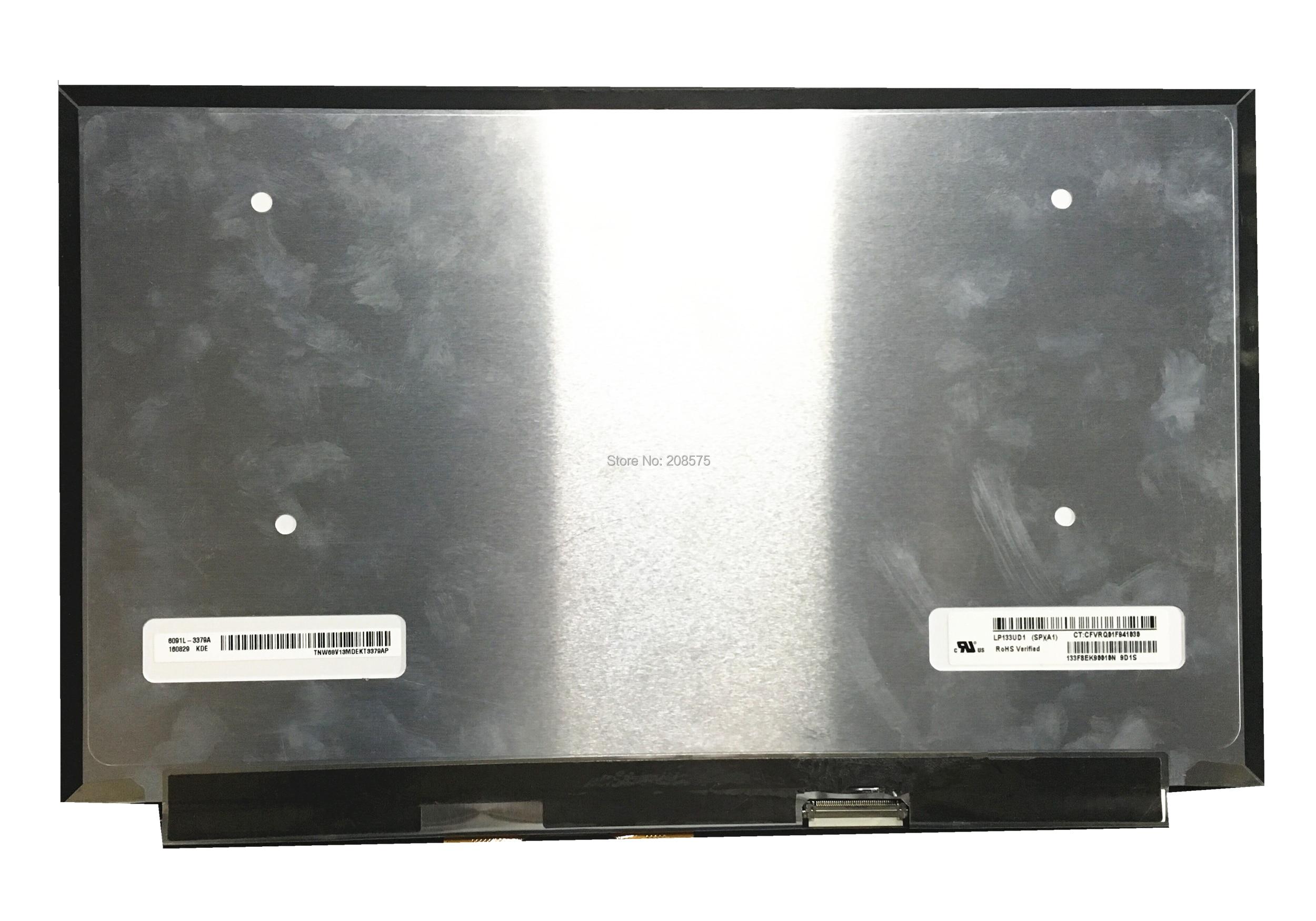 Free Shipping LP133UD1-SPA1 LP133UD1 SPA1 LP133UD1 SPA2 13.3'' Laptop LCD Screen Matrix IPS 4K UHD 3840*2160 EDP 40 Pins free shipping lp133wh2 spa1 claa133wb03cn b133xtn01 3 m133nwn1 r1 r3 13 3 laptop lcd screen 30pins