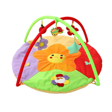 Baby Toy Gym Mat Play Rug Musical Carpet Children Caterpillar Cushion Protective Fitness With Music Soft Crawling Play Mat