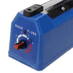 Image 4 - 200mm/300mm Impulse Sealer Heat Sealing Machine Kitchen Food Sealer Vacuum Bag Sealer Plastic Bag Packing Tools 220V 50/60HZ